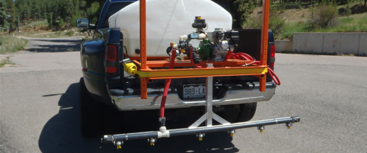 Custom Ice Control Sprayers built to your specifications