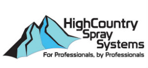 High Country Spray Systems Sticky Logo