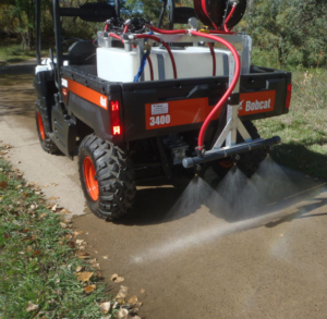 Walk Behind And Utv Mounted Deicing Solutions In Conifer
